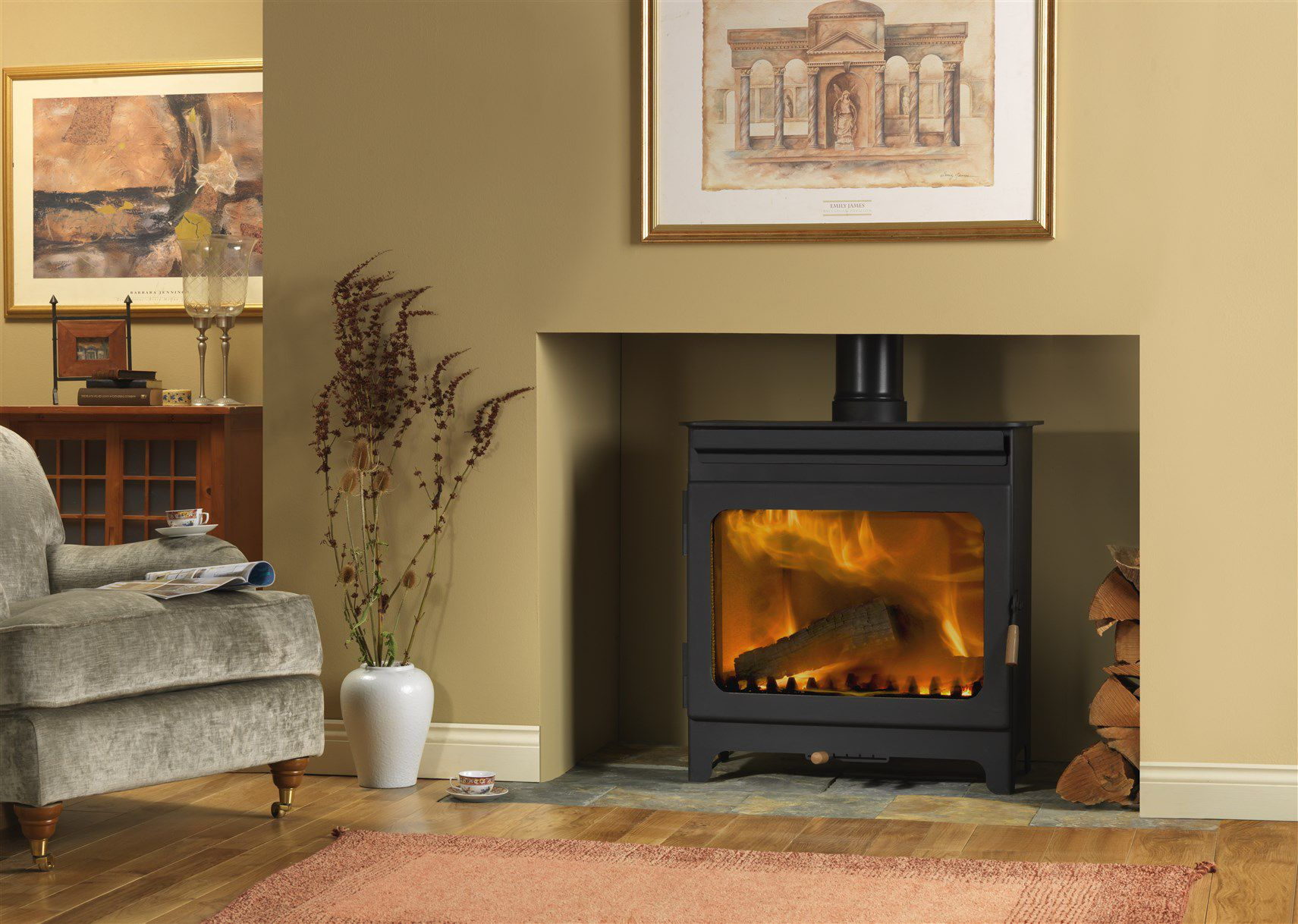 Modern Wood Burning and Multi Fuel Stoves Surrey