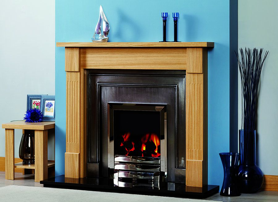 Wooden fireplace Surrey