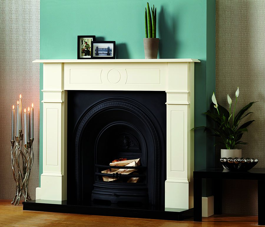 Leyburn real fireplace