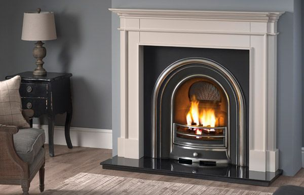 Hartwood surround with gas fire by Capital Fires