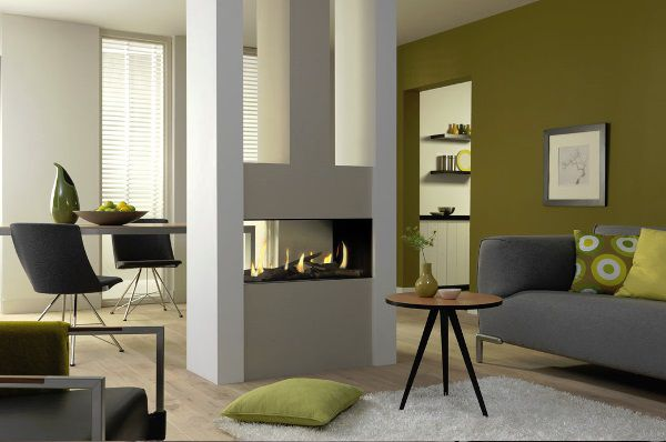 Dru metro eco wave gas fire