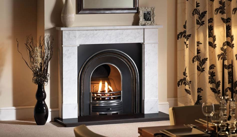 insert marble fireplace