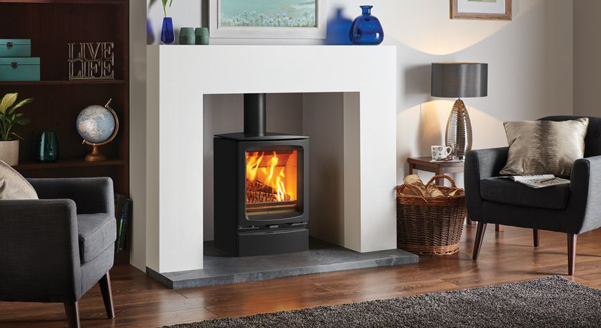 vogue multifuel stove by Stovax